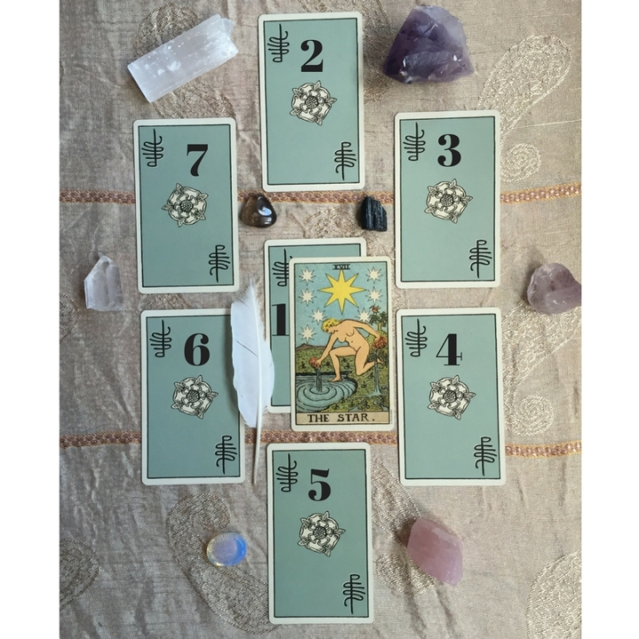 A Tarot Spread for Healing Psychic Wounds