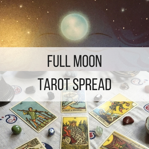 Full Moon TarotSpread