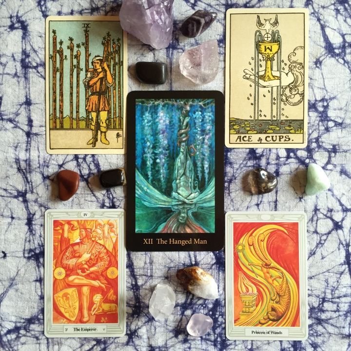 """Free Your Mind"" Tarot Spread for the New Moon and the Witches' New Year"
