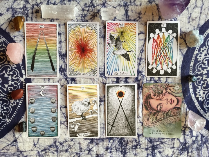 Transitional Healing Tarot Spread