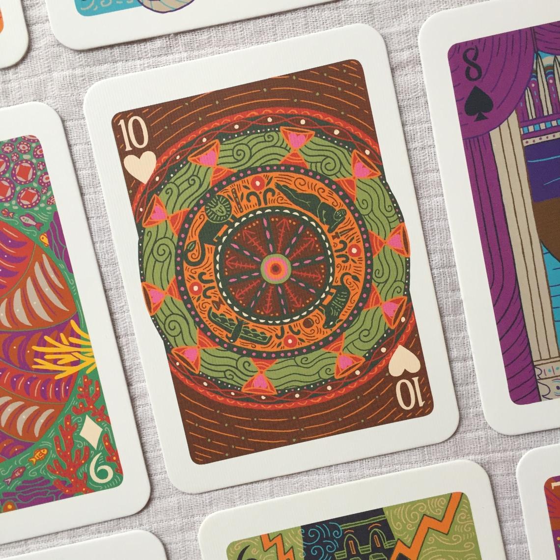 The Wheel of Fortune The Illuminated Tarot
