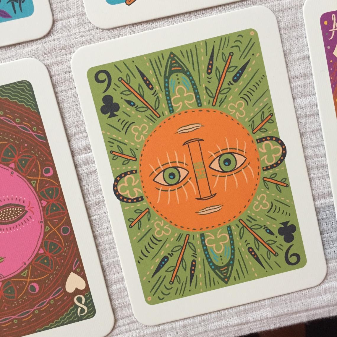 The Sun The Illuminated Tarot