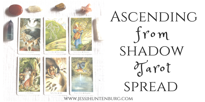 Ascending From Shadow | A Tarot Spread